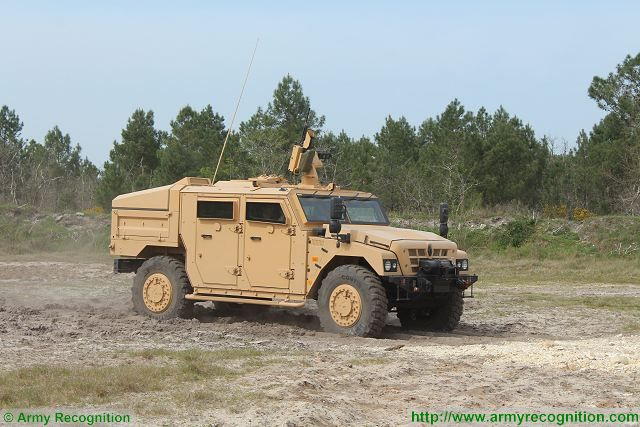 Sherpa light scout 4x4 wheeled tactical armoured vehicle Renault Trucks Defense French Defence Industry 640 002