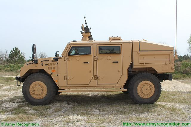Sherpa Light Scout 4x4 Tactical Armoured Vehicle Technical