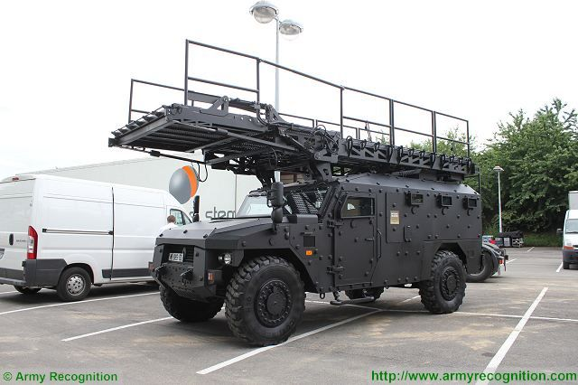 Sherpa XL 4x4 APC armored personnel carrier ARQUUS data | French