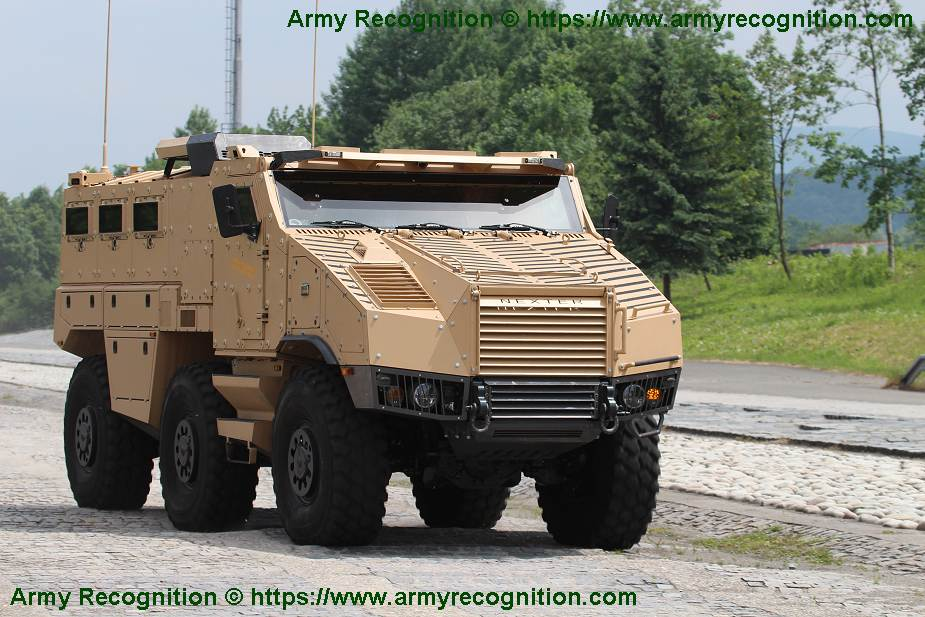TITUS Tactical Infantry Transport and utility System 6x6 armoured vehicle Nexter France French defense industry 925 001