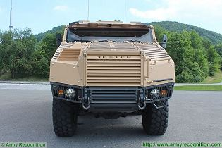 TITUS Tactical Infantry Transport and utility System 6x6 armoured vehicle Nexter France French defense industry front side view 002