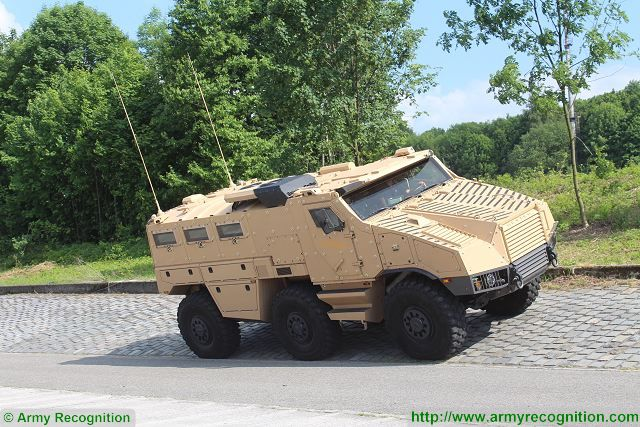 TITUS Tactical Infantry Transport and utility System 6x6 armoured vehicle Nexter Tatra France French defense industry 640 002