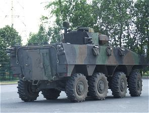 VBCI Nexter Systems wheeled armoured infantry fighting vehicle technical data sheet information description intelligence identification pictures photos images France French Army Renault trucks defense combat