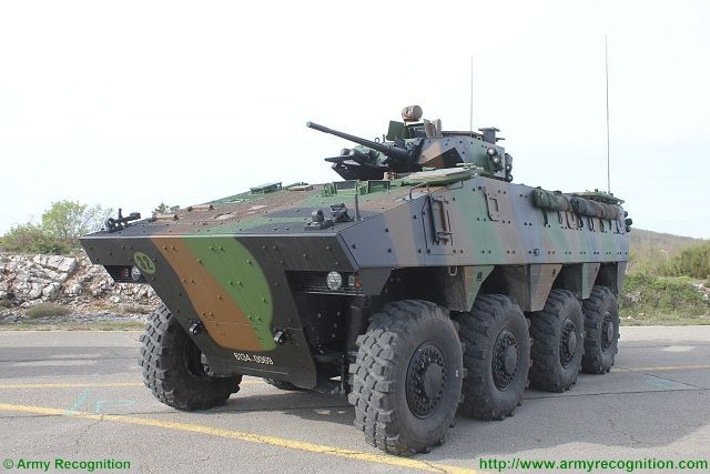 Vbci Nexter Systems Wheeled Armored Infantry Fighting