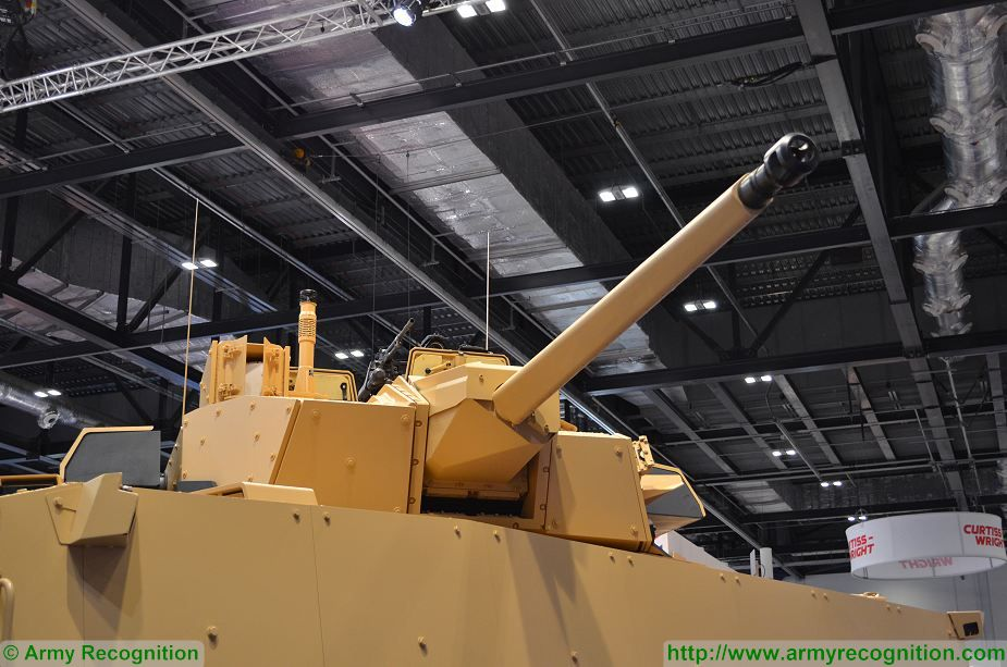 VBCI 2 8x8 wheeled armoured infantry fighting vehicle CTA40 Nexter Systems France French defense industry details 001