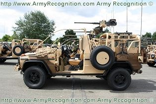 VPS Light 4x4 Special Forces patrol vehicle data sheet specifications information description pictures photos images video intelligence identification Panhard France French army defence industry military technology
