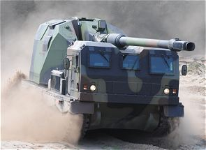 Donar 155 mm self-propelled howitzer autonomous air deployable technical data sheet specifications description information intelligence pictures photos images German Germany Defence Industry tracked armoured vehicle