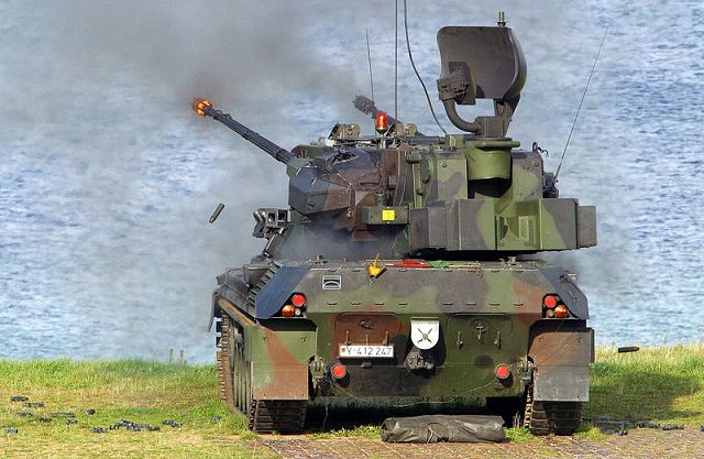 According to an ordinance from the November 29, 2012, the Brazilian army took the decision to acquire 36 anti-aicraft armoured vehicle Gepard based on the chassis of German-made main battle tank Leopard 1. The offer was made by the German Company KMW designer and manufacturer of the Gepard.