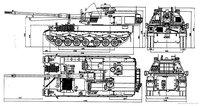 PzH 2000 155mm self-propelled howitzer technical data sheet specifications information description intelligence pictures photos images identification Germany German army KMW defense industry military technology