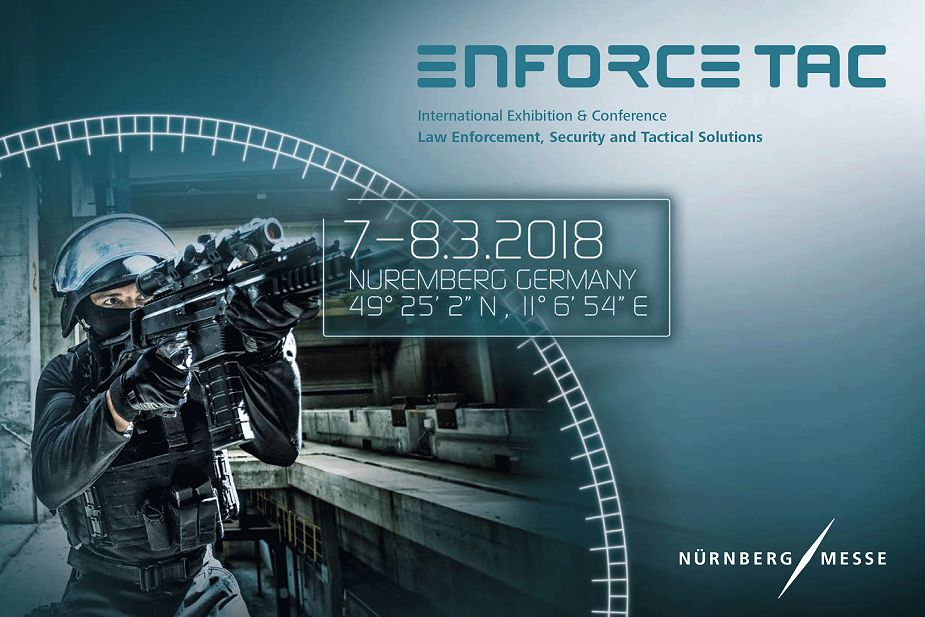 Enforce TAC 2018 the event for police and security forces in Nuremberg Germany 925 001