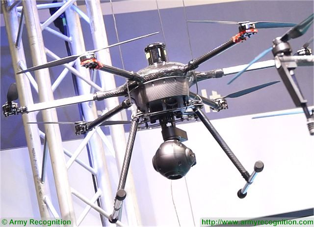 French Company Drone Volt launches its new ZF18 UF Unlimited Flight surveillance drone 640 001