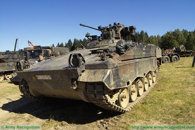 marder 1a3 ifv tracked armoured infantry fighting vehicle