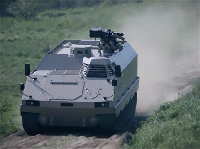 Since 50 year, the German Company FFG (Flensburger Fahrzeugbau Gesellschaft MBH) is performing industrial manufacturing and modernization of tracked armoured vehicles. At IAV 2013, FFG presents the latest development of its PMMC (Protected Mission Module Carrier) G5 tracked vehicle.