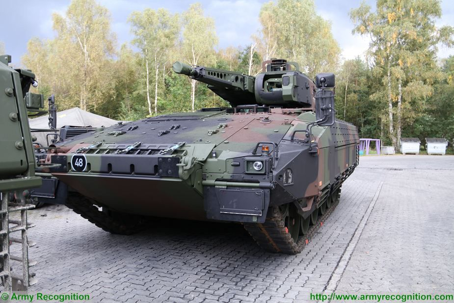 Puma IFV KMW Rheinmetall armoured infantry fighting vehicle Germany German Army 925 001