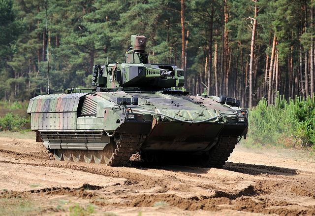 After successfully cold test completed in Norway in 2012, the German armed forces will tests the next generation of Armoured Infantry Fighting Vehicle Puma in hot weather conditions. For this purpose, two Puma were airlifted by Antonov transport aircraft from Leipzig- Halle Airport to the United Arab Emirates.
