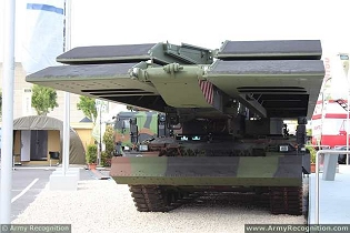 Leguan Leopard 2 KMW armoured vehicle launched bridge layer AVLB technical data sheet specifications information description intelligence pictures photos images identification Germany German army defense industry army military technology