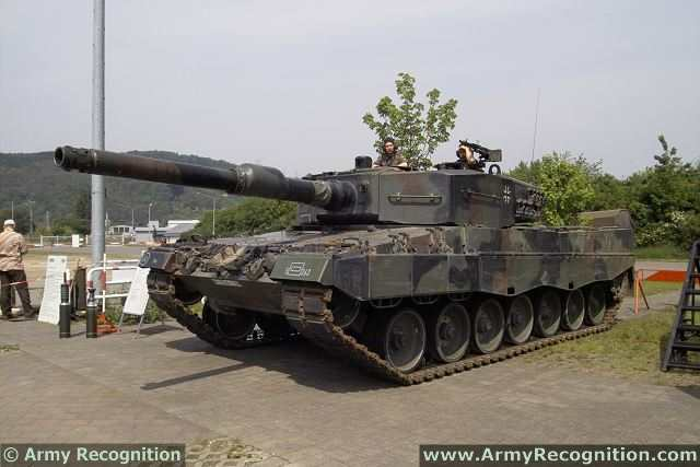 Leopard 2a4 German Bundeswehr Photo Kmw