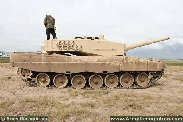 Picture Of Leopard 2 Main Battle Tank Mbt Tracked Bat Vehicle