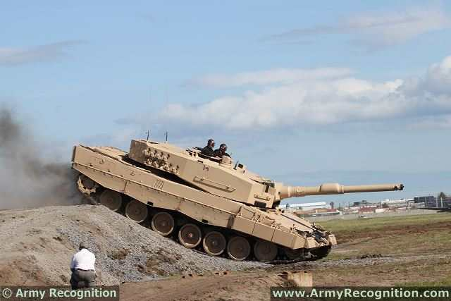 Leopard 2A4 MBT Main Battle Tank technical data pictures | Germany