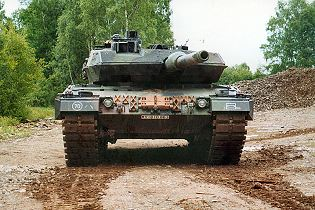 Leopard 2A5 MBT main battle tank technical data sheet specifications pictures video information description intelligence identification KMW Krauss-Maffei Wegmann Germany German army defense industry army military technology