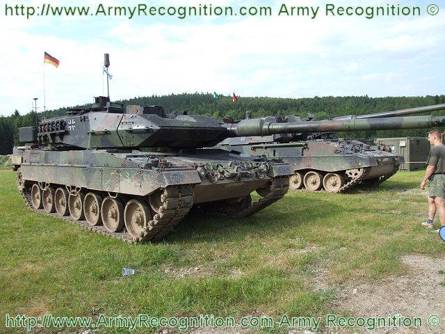 German Leopard 2A6 main battle tank