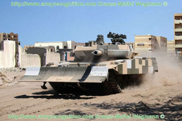 Leopard 2A7 main battle tank urban operation Krauss-Maffei Wegmann Germany German army 640