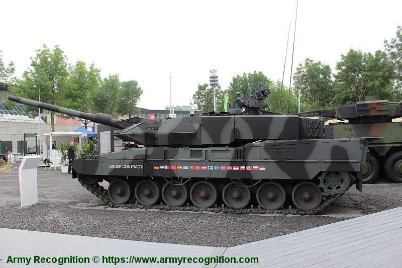 5f09ffc3380c Leopard 2A7 MBT Main Battle Tank technical data pictures video ...