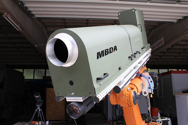 The ability to direct 10 kW laser power over a long distance and reach a target with a high quality beam is a decisive forward step. MBDA Germany has conducted several successful tests with its laser demonstrator. This is evidence of major progress in terms of achieving a C-RAM (Counter Rocket, Artillery, Mortar) laser weapon system. The results also confirm MBDA Germany's leading position in Europe in this domain.