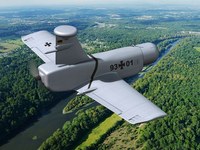 Cassidian and Rheinmetall have agreed to pursue Rheinmetall's Unmanned Aerial Systems (UAS) activities together in a Joint Venture. It was agreed in a contract that Cassidian should hold 51 percent and Rheinmetall 49 percent of the shares in the newly established Joint Venture.