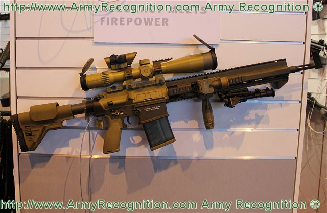 G28 marksman rifle technical data sheet specifications information description intelligence pictures photos images identification Germany German army defense industry military technology Heckler & Koch HK