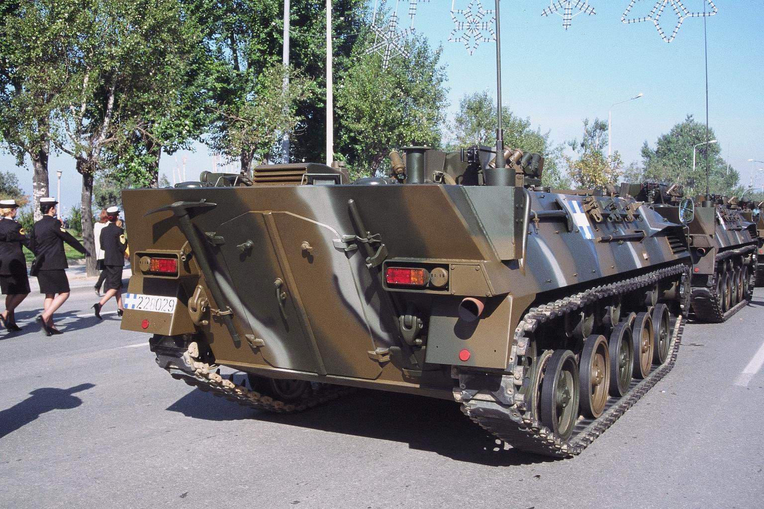 Hellenic Leonidas 1 2 Armoured Armored Personnel Carrier