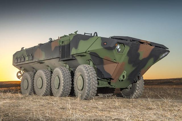 ACV1-1 Iveco Defence Vehicles 8x8 amphibious armoured combat vehicle Bae Systems Italy defense industry 640 001