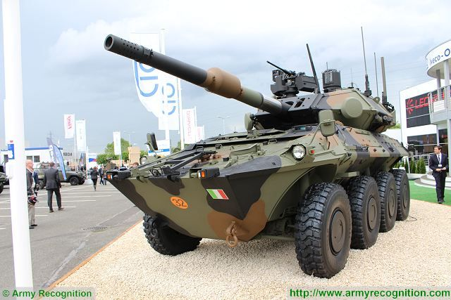 Centauro II 2 MGS Main Gun System 8x8 anti-tank wheeled armoured vehicle Oto-Melara Iveco Italy Italian defense industry army 640 001