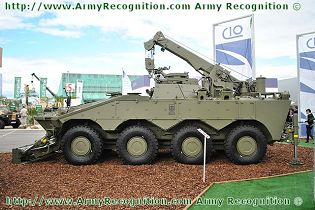 Centauro ARV wheeled armoured recovery vehicle technical data sheet specifications description information pictures photos images identification intelligence Italy Italian IVECO Defence Vehicles OTO Melara Defence Industry military technology