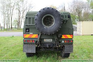 LMV LAV IVECO Defence Vehicles 4x4 light multirole wheeled armoured vehicle Italy Italian defense industry rear view 002