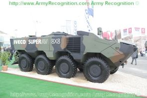 SUPERAV 8x8 amphibious wheeled armoured vehicle technical data sheet specifications description information pictures photos images identification intelligence Italy Italian Iveco Defence Vehicles