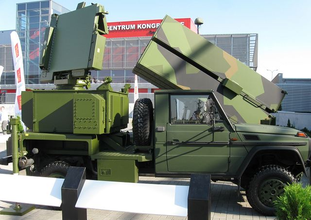 MPQ-64F1 3D Radar vehicle NASAMS technical data sheet specifications information description intelligence identification pictures photos images video information Norway Norwegian army defence industry military technology equipment