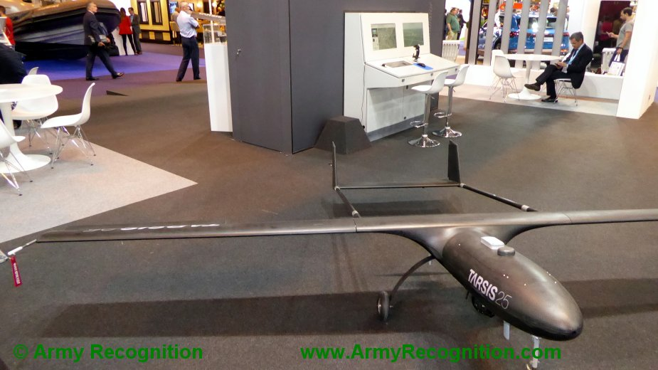 FEINDEF 2019 AERTEC Solutions displays Tarsis remotely piloted aerial systems and flight simulator 1