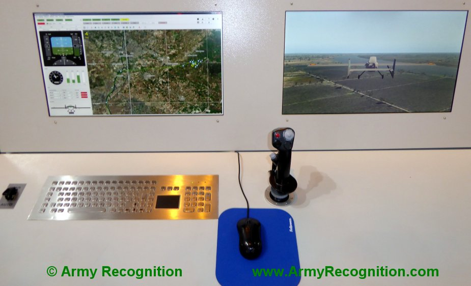 FEINDEF 2019 AERTEC Solutions displays Tarsis remotely piloted aerial systems and flight simulator 3