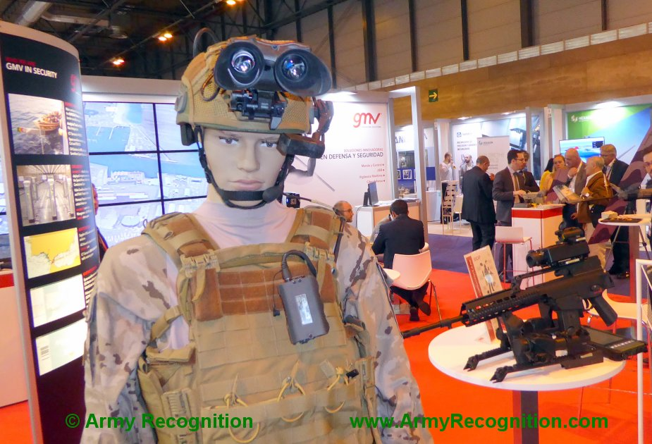 FEINDEF 2019 Indra GMV showcases its C4I system for future infantrymen 1
