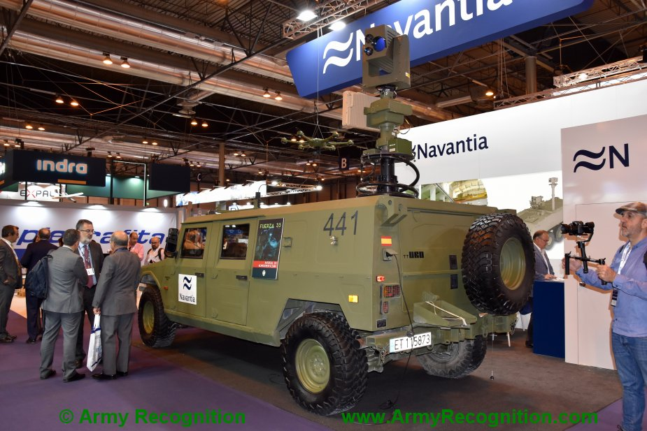 FEINDEF 2019 Navantia shows its VVT project with the UAS developed by SDLE 1 bis