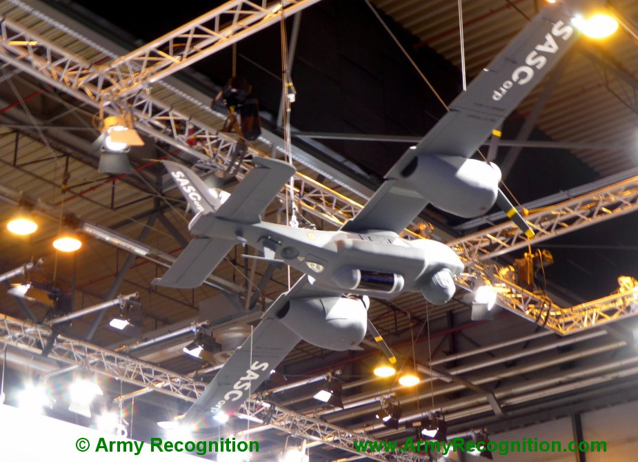 FEINDEF 2019 SASCorp displays HALE UAV