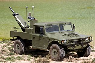 EIMOS Expal Integrated Mortar System for light wheeled vehicle 60mm 81mm technical data sheet specifications information description intelligence identification pictures photos images video Spain Spanish Defence Industry army military technology