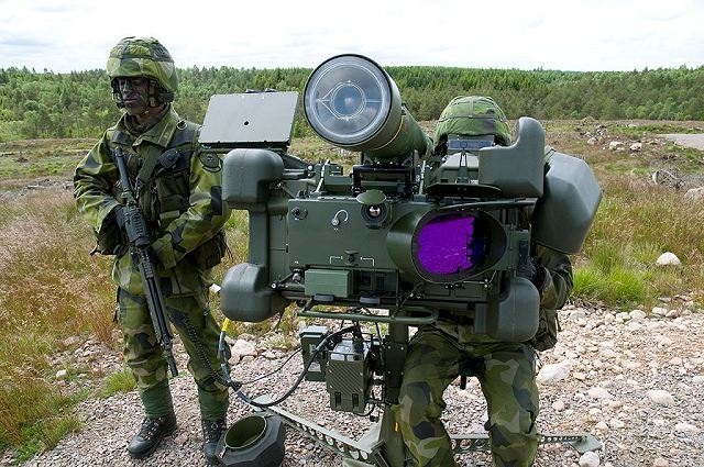 RBS 70 NG man portable air defense missile system technical data sheet information specifications description pictures photos images identification rocket launcher Sweden Swedish army Saab defence industry military technology MANPADS