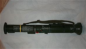 AT-4 AT4 HEAT light anti-armour anti-tank weapon technical data sheet information specifications description pictures photos images identification rocket launcher Sweden Swedish Saab Bofors Dynamics