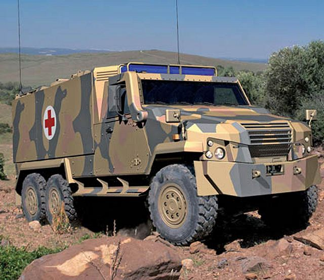 General Dynamics European Land Systems presents the new Eagle 6 x 6 ...