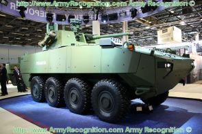 Piranha V 5 wheeled armoured vehicle data sheet description information intelligence identification pictures photos images Mowag General Dynamics European Land Systems Switzerland Swiss Army