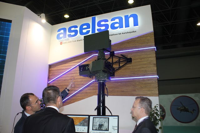 Aselsan iHTAR anti-drone-system high tech port 2016
