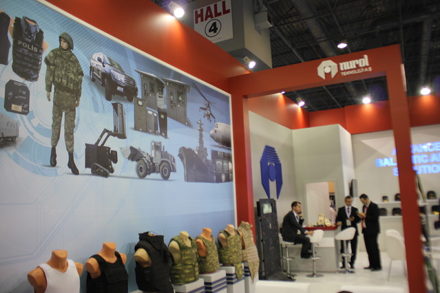 Nurol Technologies showcases its range of protection vests and body armour at High Tech Port 2016 640 001