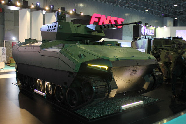 The FNSS Kaplan Armored Fighting Vehicle on display at High Tech Port 2016 640 001